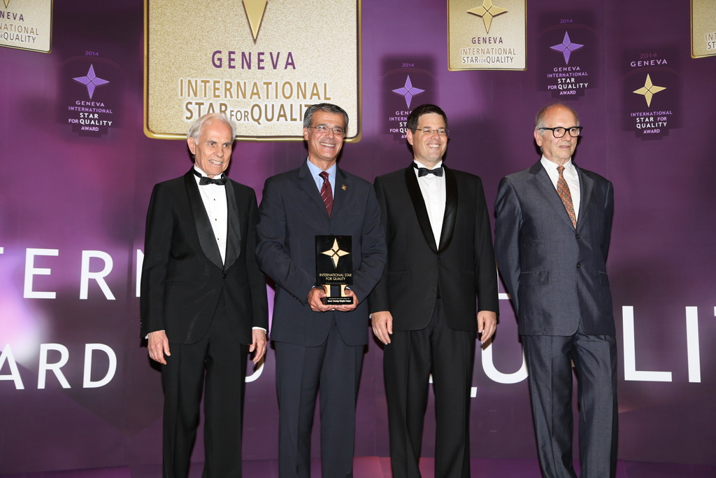 National Technology Enterprises Company received the International Star Award for Quality in the Gold Category